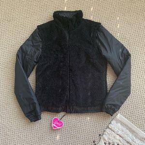 Juicy Conture Reversible Sherpa Jacket